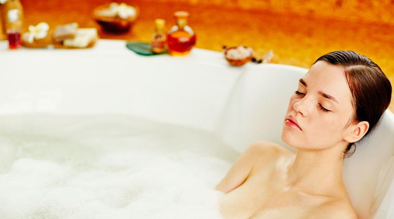 Contro i dolori muscolari c'è il bagno caldo nell'acqua magnesiaca